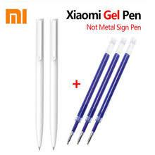 <b>Original Xiaomi Mi Gel</b> Pen MI Pen 9.5mm No Cap Bullet Black Pen ...