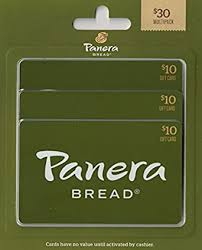 Panera Bread Gift Cards, Multipack of 3 - $10: Gift Cards - Amazon.com