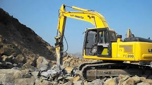 excavator breaker on rent in nandaprayag l t komatsu  excavator breaker on rent in nandaprayag l t komatsu 200