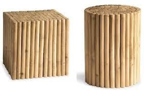 bamboo furniture decoration bamboo wood stool bamboo wood furniture