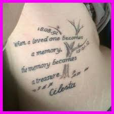 Quotes About Losing A Loved One Tattoo - the divorce tattoo ... via Relatably.com