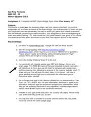 Assignment   IBM     Cover Letter doc   salutation  and closing       pages Assignment   IBM     MBTI doc