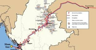 With Oil And Gas Pipelines, China Takes A Shortcut Through <b>Myanmar</b>