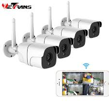 2019 <b>Wetrans Wireless Security Camera</b> System 1080P IP Camera ...