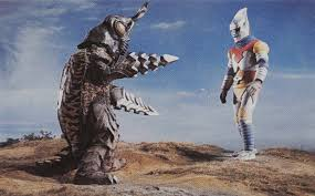 Image result for Jet Jaguar and Megalon