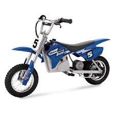 Электро-<b>минибайк Razor</b> MX350, синий — купить в интернет ...