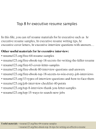 top8hrexecutiveresumesamples 150425022022 conversion gate02 thumbnail 4 jpg cb 1429946469