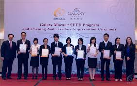 galaxy entertainment the students who participated in the seed program gained valuable work experience that enabled them to determine their future career aspirations