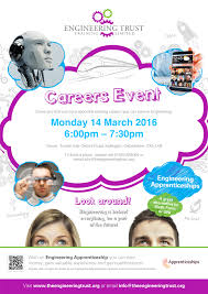 careers event leaflet 14 2016 jpg careers event for engineering apprenticeships 14 2016 come and out more about the exciting careers you can have in engineering