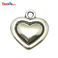 2019 <b>Beadsnice Pure 925 Sterling</b> Silver Tiny Heart Charms ...