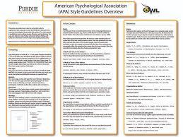 apa literature review outline owl