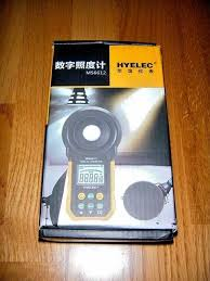 HYELEC <b>PEAKMETER MS6612</b> Цифровой люкс-метр Ручной ...