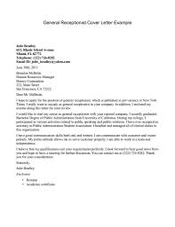 cover letter for medical receptionist generic resume cover letter generic resume examples