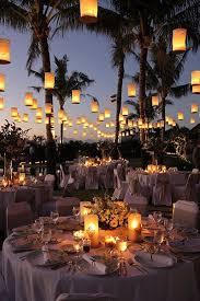 lanterns candles outdoor wedding lighting backyard wedding lighting