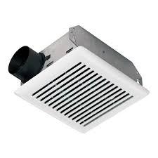 sensing bathroom fan quiet: n white cfm standard ul listed bathroom ventilation exhaust fan