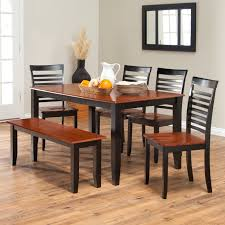 Solid Cherry Dining Room Table Boraam Bloomington Dining Table Set Black Cherry Dining Table