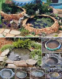 diy patio pond: view in gallery tractor pond wonderfuldiy
