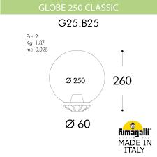 <b>Наземный низкий светильник Globe</b> 250 G25.B25.000.AYE27