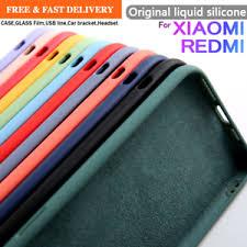 New <b>Original velvet Liquid</b> Silicone Case For Xiaomi mi 9 9SE 10 A3 ...