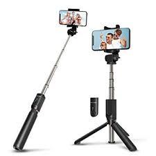 Wireless <b>Selfie Stick Tripod</b> with Remote for iphoneX 6 6s 7 8 plus ...