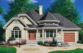 House plan W detail from DrummondHousePlans comfront   BASE MODEL American bungalow    bedrooms  covered front porch  built