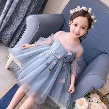<b>Girl Dress</b> Spring <b>Summer 2019</b> new foreign gas children's princess ...