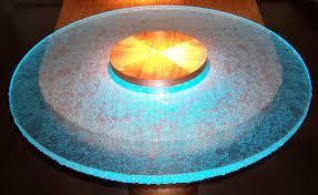 inner glow thinkglass versatile countertop design amazing inner glow glass round table top design ideas amazing glass table top