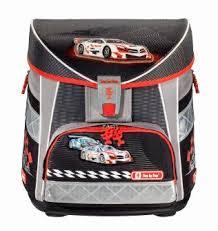 Купить <b>Ранец Step By</b> Step Light Racer серый/черный/красный в ...