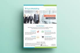 creative marketing flyer v22 flyer templates on creative market