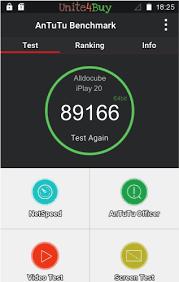 <b>Alldocube iPlay 20</b> Antutu benchmark score