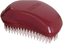 <b>Tangle Teezer Thick</b> and Curly Detangling Hairbrush Dark Red ...
