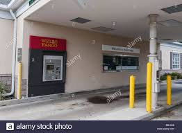 wells fargo drive thru bank located in central florida usa stock stock photo wells fargo drive thru bank located in central florida usa