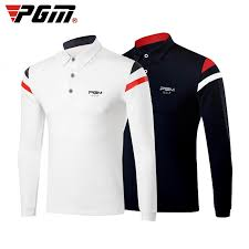 Golf T shirt PGM <b>Men's Autumn Winter</b> Long Sleeved <b>Breathable</b> ...