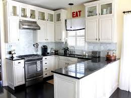 Small Picture Delighful Small White Kitchen With Cabinets Fantastic Interior