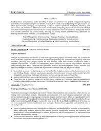 project coordinator resume sample   easy resume samplesgallery of  project coordinator resume sample