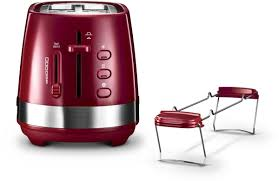 <b>Тостер DeLonghi CTLA2103</b>, Red — купить в интернет-магазине ...