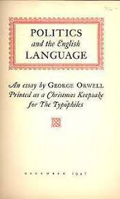politics and the english language by george orwell — reviews  politics and the english language