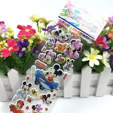 5 Bag Mickey Mouse Sticker Dimensional 3D <b>Dinosaur</b> Bubble ...
