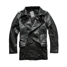 Read Description! Asian size excellent <b>cow leather winter</b> jacket ...