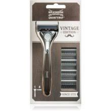 Wilkinson Sword <b>Quattro</b> Vintage Edition <b>бритвенный станок</b> + ...