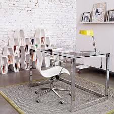 awesome glass desks for home office qj21 ajmchemcom home design amazing glass office desks