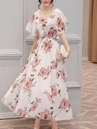 women's <b>floral chiffon</b> maxi dresses off 66% - www.wingssoft.com