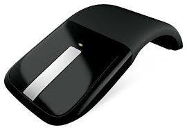 Беспроводная <b>мышь Microsoft</b> Arc Touch Mouse Black USB <b>RVF</b> ...