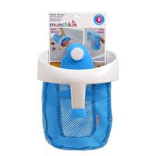 munchkin мочалка игрушка для ванны уточка