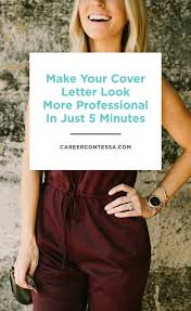 17 best images about cv personal branding creative this 5 minute cover letter design trick makes you more professional