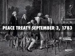 「treaty of paris 1783」の画像検索結果