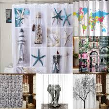 shower curtain fabric waterproof fashion