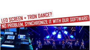 Tron show with <b>LED Screen Projection</b> - a perfect combination - Tron ...