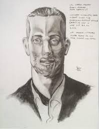 "CPL Robert Bates, ""Portrait of Aaron Mankin,"" 2011. Earlier in the month I was working on an essay about Jarrett Min Davis, an artist who depicts battle ... - 556_BATES-Robert-CPL-Aaron-Mankin-Portrait"