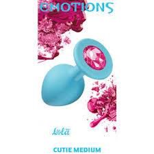 Lola Toys <b>Emotions Cutie</b> Medium, голубая - Condom Shop